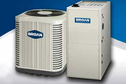 Broan Air Conditioning Units authorized for resell by May Custom Home a Broan Authorized Dealer